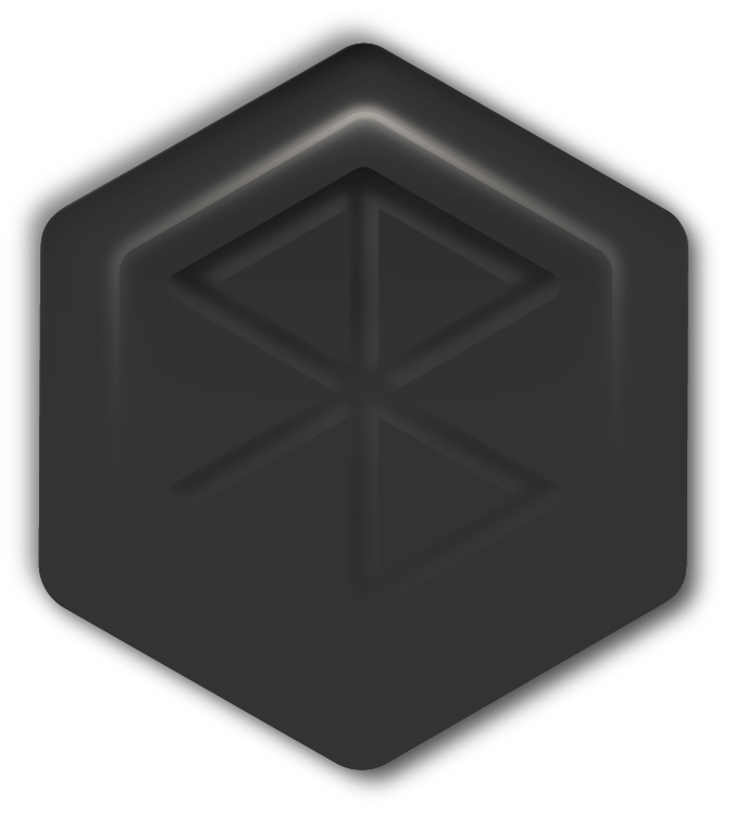 coming soon hexagon on background